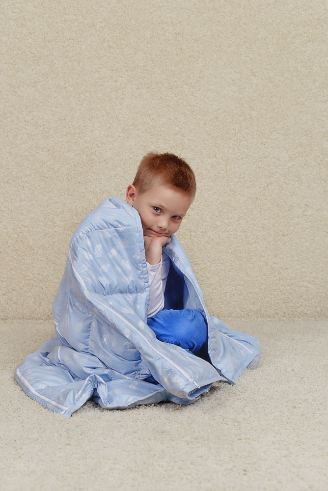 утяжеленное одеяло HugME