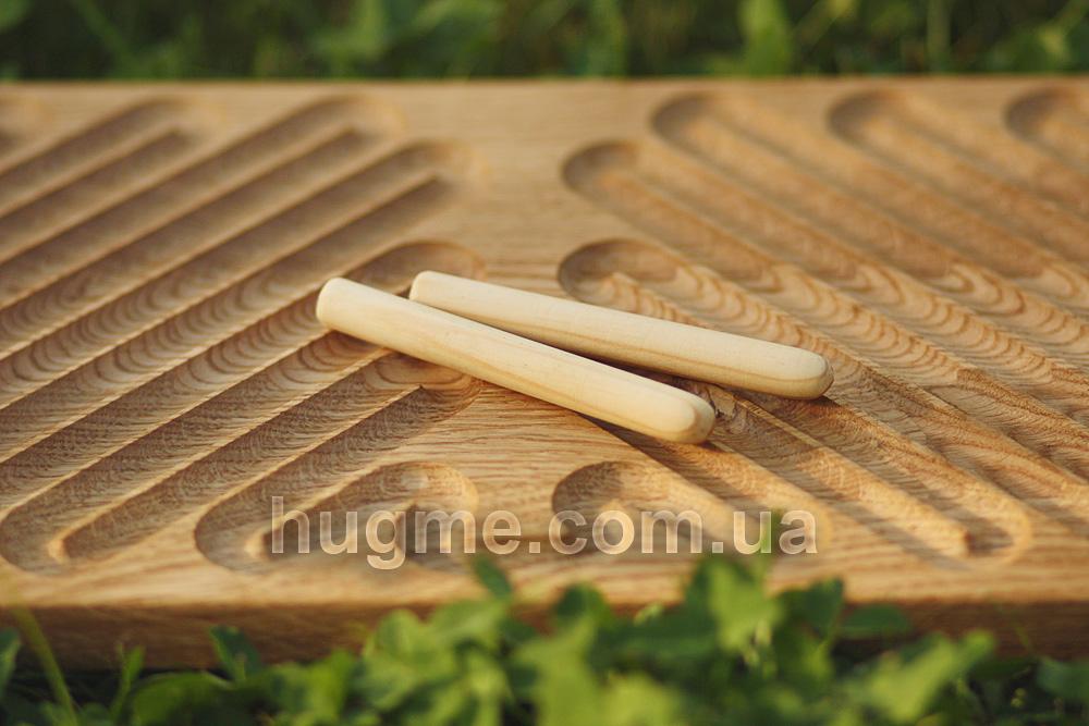 доска межполушарная деревянная 3 в 1 HugME