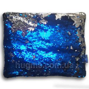 обтяжена подушка з паєтками HugME