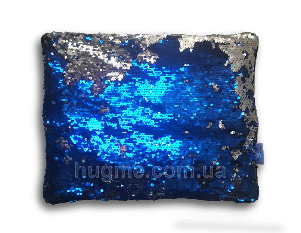 утяжеленная подушка с пайетками HugME